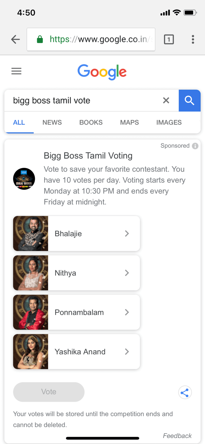 How to vote outside of india