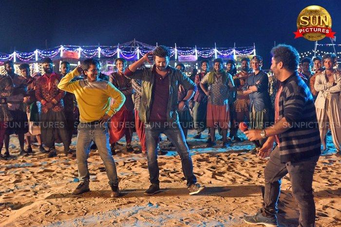 Sarkar Movie Working Stills