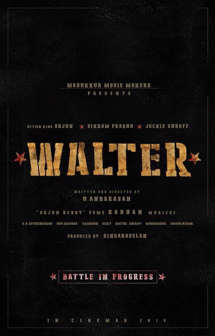 Walter Tamil Movie
