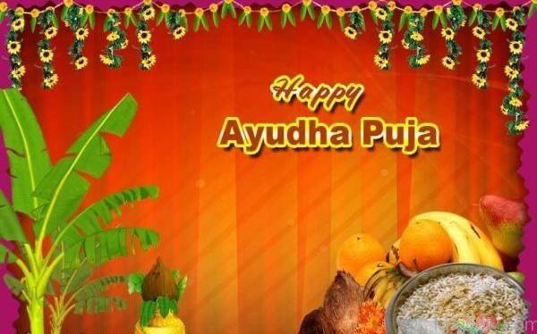 Happy Ayudha Pooja 2018 Images