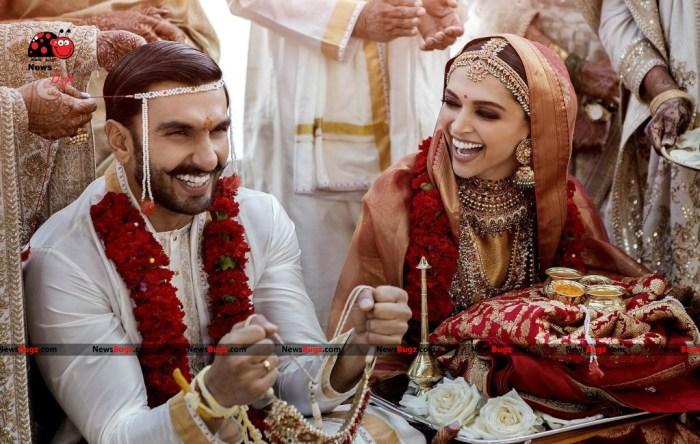 Ranveer Singh and Deepika Padukone Marriage Photos