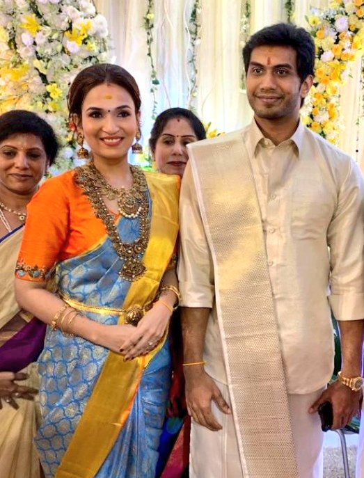 Soundarya Rajinikanth and Vishagan Vanangamudi Wedding Images