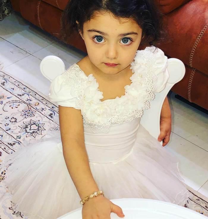 Anahita Hashemzadeh Baby Girl Photos