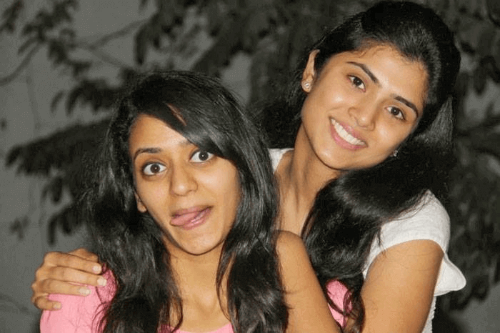 Bhavana Daggubati with her sister Aashritha Daggubati