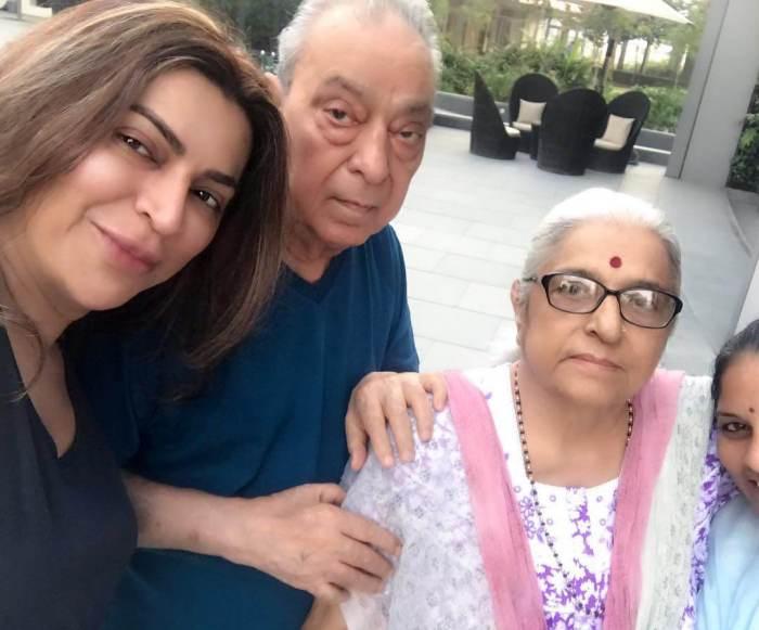 Ojas Rajani Family