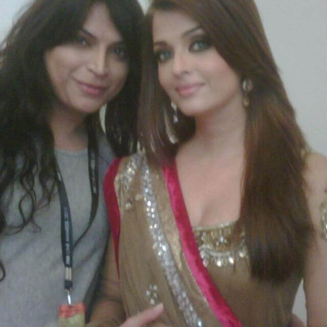 Ojas Rajani with Aishwarya Rai