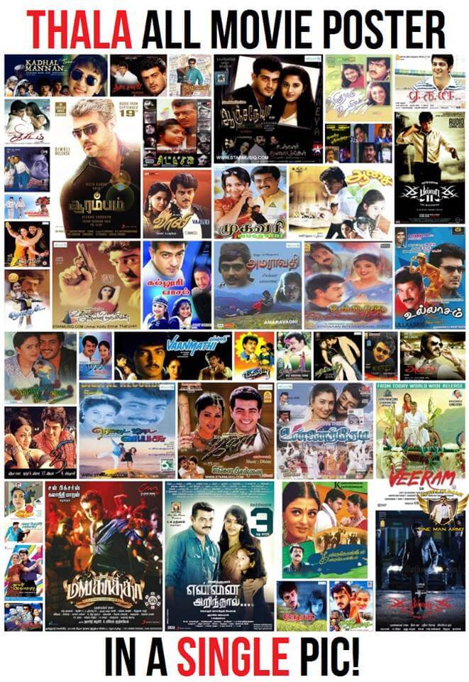 Thala Ajith Movie Collections on Tamilrockers