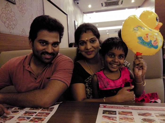 Rajkumar Manoharan Family