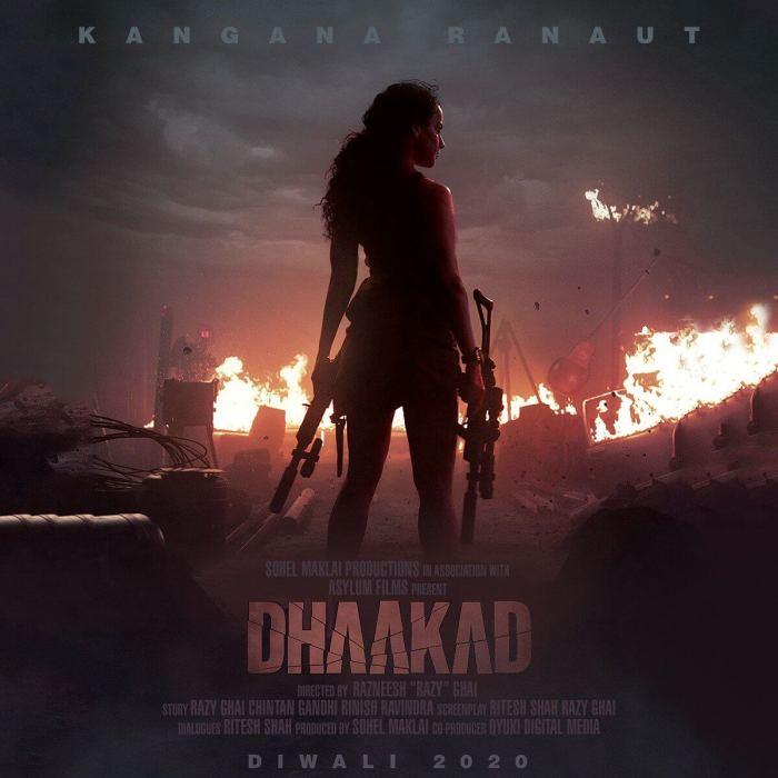 Dhaakad Hindi Movie