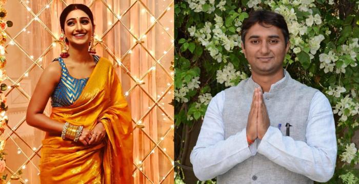 Mohena Kumari Singh Brother Divyaraj Singh