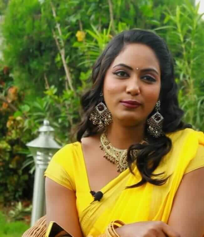Meghana Chowdary in Saree