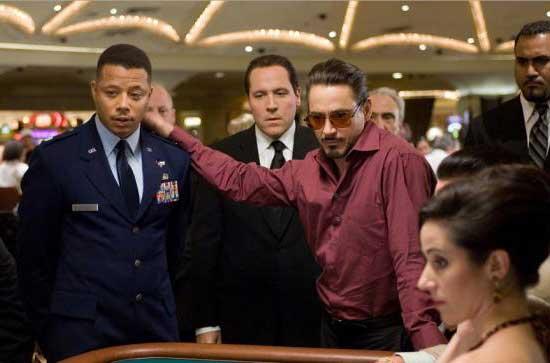 Iron man - Casino Scene
