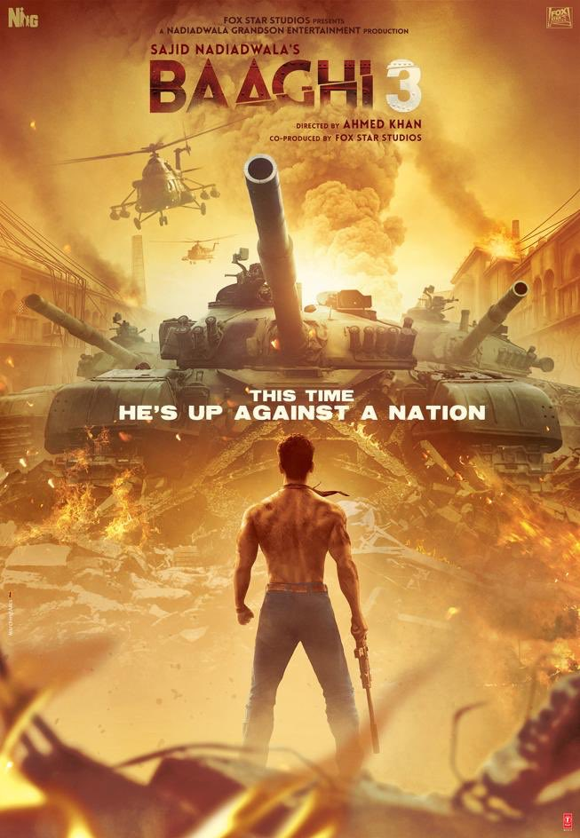 Baaghi 3 First Look