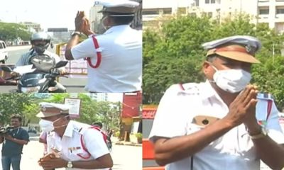 chennai traffic police officer Rashid