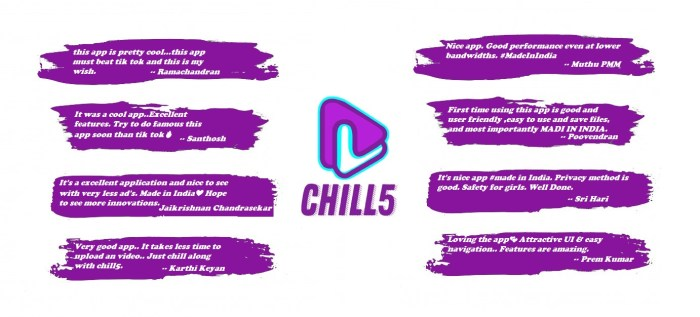 Chill5 App reviews