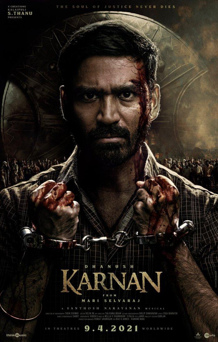 Dhanush Movie Karnan First Look