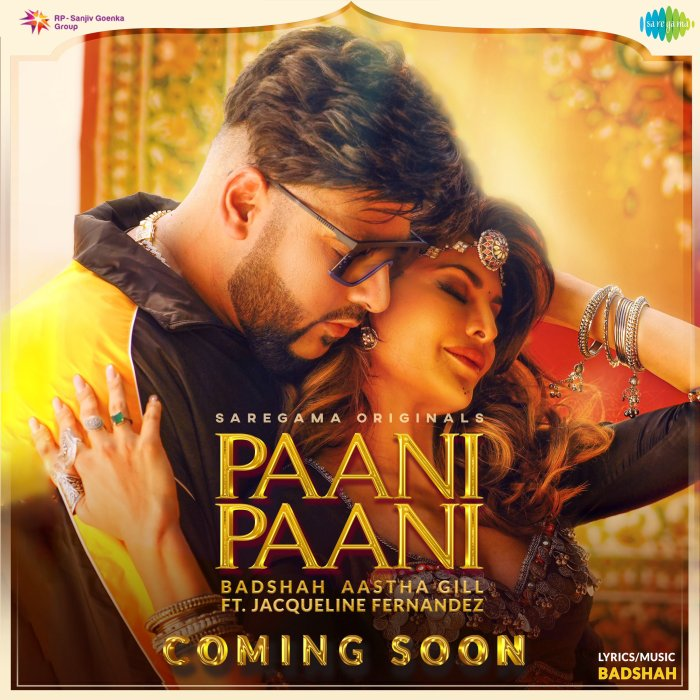 Watch the Paani Paani video song with Badshah and Jacquline Fernandez