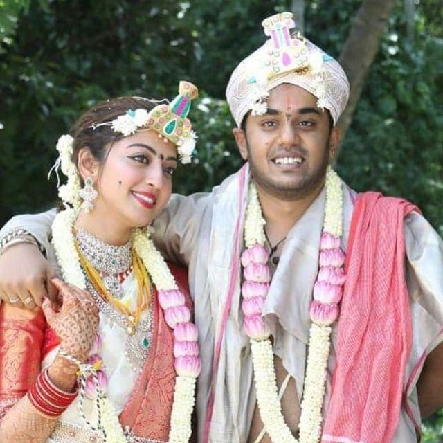 Pranitha Subhash Nitin raju