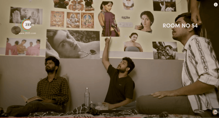 View Room No. 54 Web Series (2021) at ZEE5 | Telugu