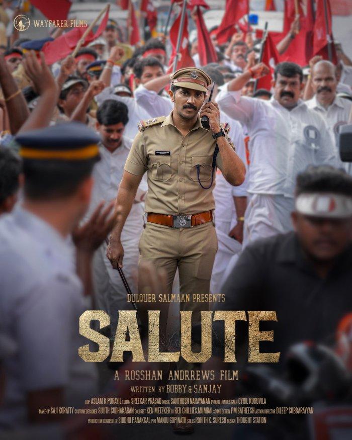 Salute Movie (2021) | Dulquer Salmaan | Cast | Trailer | Numbers | Publication date