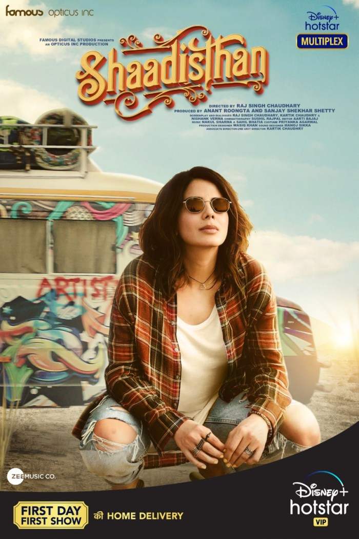 Watch Shaadisthan Movie (2021) on Disney+ Hotstar | Kirti Kulharic