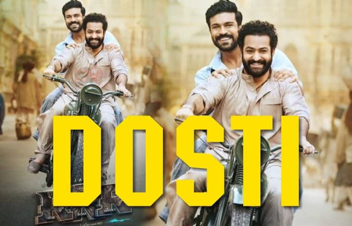Dosti Song from RRR Movie