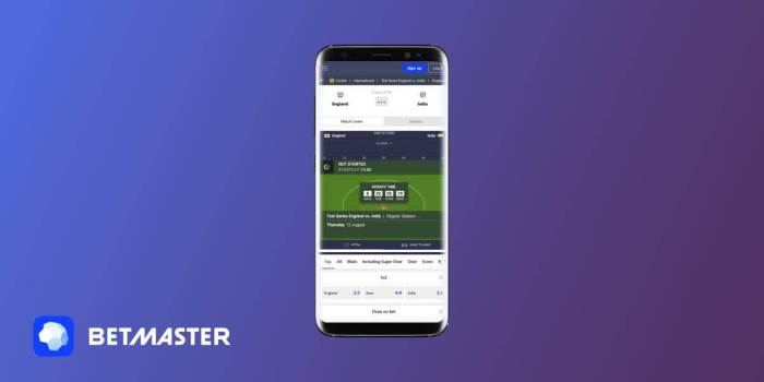 betmaster mobile betting