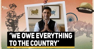 Actor Amit Sadh Sings His Sandesh To A Soldier   The Quint