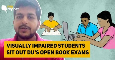 No Scribe, Assistive Tech Forced Me to Sit Out DU Open Book Exam' | The Quint