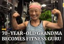 70-year-old Chinese grandma becomes fitness guru