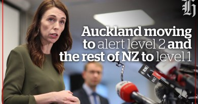 Auckland moving to alert level 2 and the rest of NZ to level 1