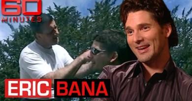 "Eric Bana on studying and portraying criminal Mark ""Chopper"" Read   60 Minutes Australia"