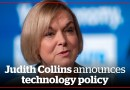 Judith Collins announces technology policy