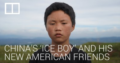 Life improves for China's 'ice boy' as he makes some new friends from the US