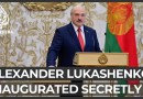 Lukashenko inaugurated secretly amid protests, sanctions threat