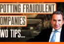 Two Tips On How To Spot A Fraudulent Company | Short Selling Tells