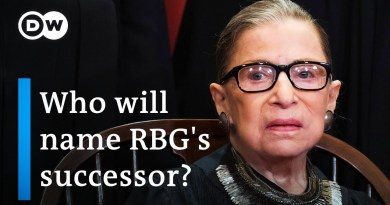 US Supreme Court Justice Ruth Bader Ginsburg dies: What now? | DW News