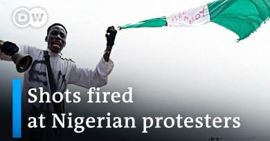 #EndSARS: Shots fired at anti-police brutality protest in Lagos | DW News