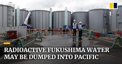 Radioactive water from Japan's devastated Fukushima plant may be released into Pacific Ocean
