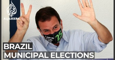 Brazil municipal elections: Centrists win big in two main cities