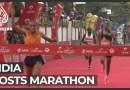 Elite runners brave Delhi half-marathon dubbed 'suicidal'