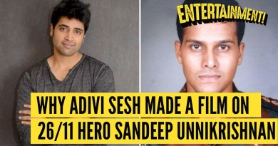 Interview With Adivi Sesh on Playing 26/11 Hero Sandeep Unnikrishnan | The Quint