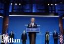 Joe Biden and Kamala Harris announce their first cabinet picks – watch live