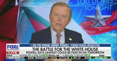 Lou Dobbs & Trump Brag About The Stock Market As Americans Go Hungry