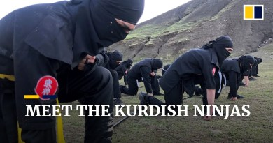 Meet the Kurdish 'Soran Ninja Team' in Iraq