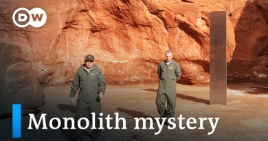 Monolith in Utah desert vanishes without a trace | DW News