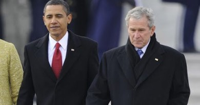"Obama Was Angry At Bush Protesters For Lacking ""Decorum""!"