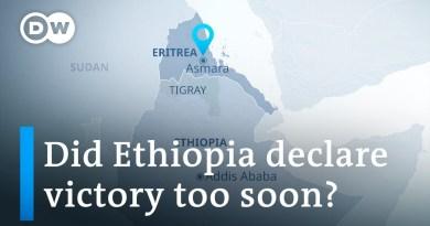 Rockets from Ethiopia's Tigray fired at Eritrean capital Asmara | DW News
