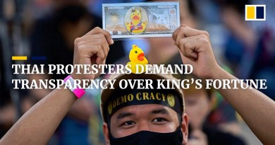 Thai protesters demand king to give up US$40 billion royal fortune