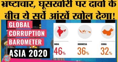 Transparency International survey के आंकड़े सुन आप कहेंगे- बाप बड़ा ना भैया सबसे बड़ा रुपैया